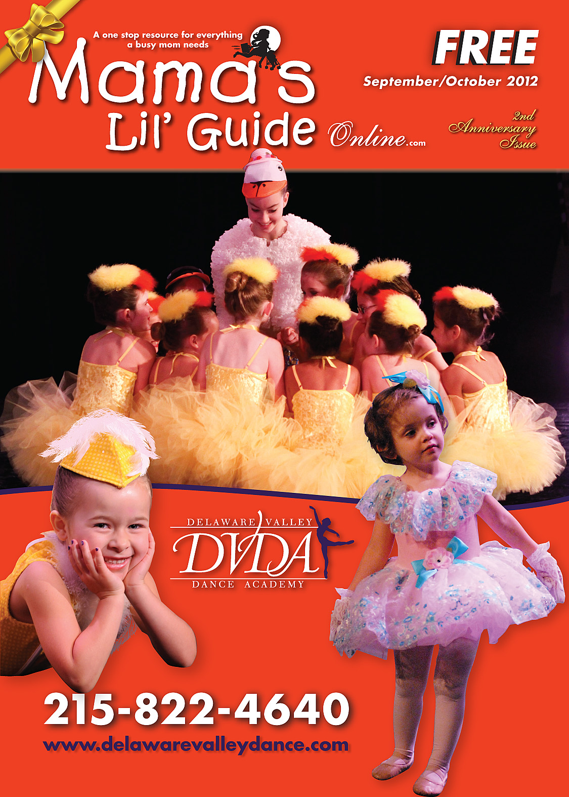 Mamas Lil' Guide Second Anniversary September/October 2012 Issue