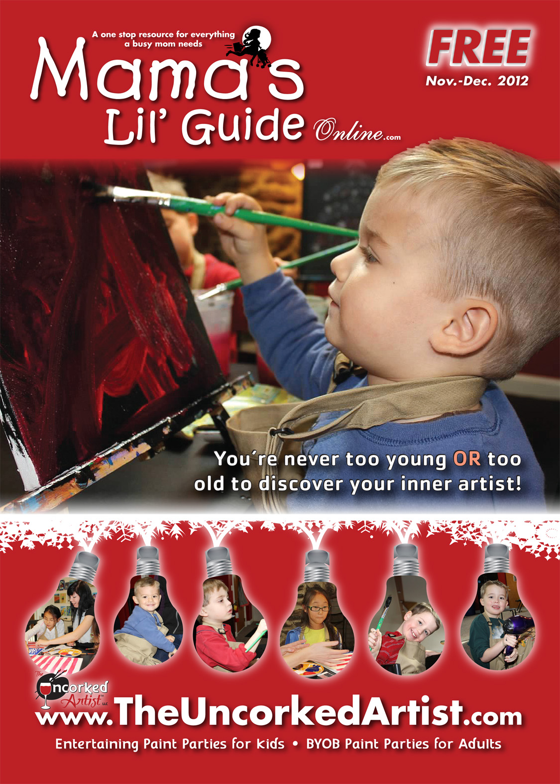 Mamas Lil' Guide November/December 2012 Issue
